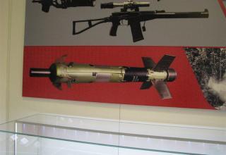 Вид макета ПТУР 9М113М