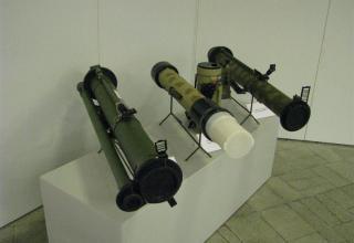 Общий вид макетов гранатометов