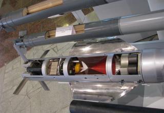 Вид элемента конструкции макета нового самонаводящегося боевого элемента