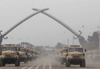 http://www.daylife.com/photo/0a2514t9Bc7cM?__site=daylife&q=Iraqi+Army. 06.01.2012. Багдадская фортификационная зеленая зона.
