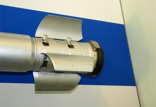 Вид хвостовой части макета неуправляемого реактивного снаряда 9М218. С.В. Гуров (г.Тула)