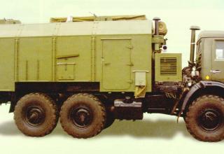 УКШМ на базе автомобиля повышенной проходимости КАМАЗ-43114 с кузовом-фургоном