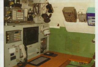 Часть внутренней компоновки УКШМ на базе автомобиля повышенной проходимости КАМАЗ-43114 с кузовом-фургоном