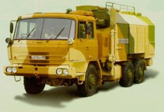 УКШМ на базе автомобиля повышенной проходимости TATRA T815-21NR36 6×6.1R с кузовом-фургоном