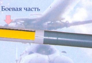 Неуправляемая авиационная ракета С-8ОФП калибра 80 мм