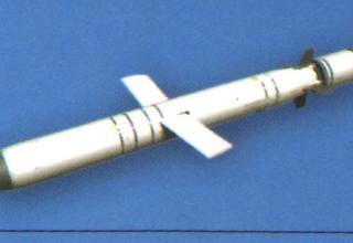 Вид ракеты 3М-54КЭ1