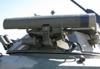 Элементы конструкции пусковой установки на БМП. ©С.В. Гуров (г.Тула)