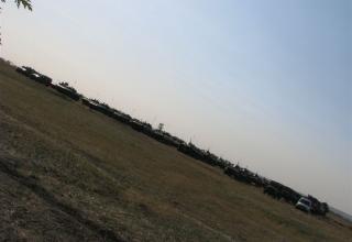 Панорама с техникой. ©С.В. Гуров (г.Тула)