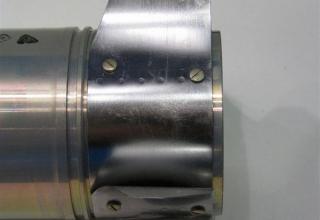 Элемент конструкции макета реактивного выстрела к огнемету