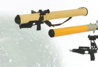 """Реактивный пехотный огнемет повышенной дальности и мощности """"Шмель-М"""""""