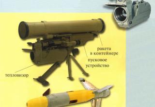 """Многоцелевой противотанковый ракетный комплекс """"МЕТИС-М1"""""""