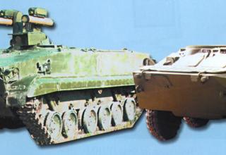 Боевые машины комплекса