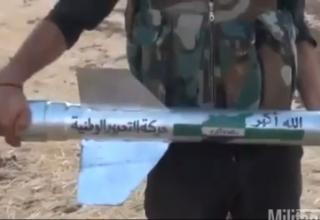 Алеппо, Сирия, 08-08-2012 г. Стоп-кадр видеосъёмки. http://www.military.com