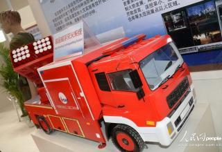 Китайские противопожарные ракетные установки