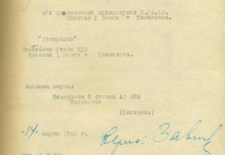 ЦВМА. Ф.430. Оп.1. Д.1276. Л.28.