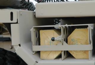 """Вид элемента образца БМ РСЗО  MCL (Multiple Cradle Launchers)(ОАЭ). ©И.В. Кузнецов (ОАО """"НПО """"СПЛАВ"""" г.Тула)"""