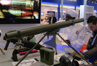 """Макет установки TAKA - 3 GRL02 для пуска РС калибра 122 мм (Судан). ©И.В. Кузнецов (ОАО """"НПО """"СПЛАВ"""" г.Тула)"""