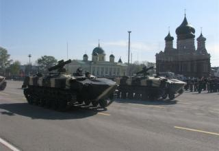 Боевая машина для обеспечения противовоздушной обороны. ©С.В. Гуров (г.Тула)