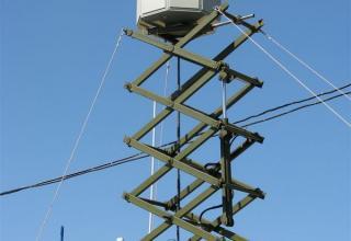 Антенна макета модуля обнаружения и целеуказания комплекса