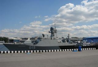 Проект 21630. Малый артиллерийский корабль.