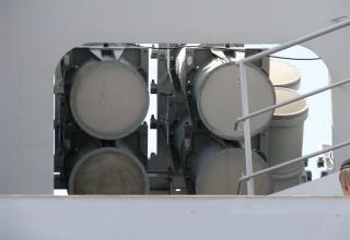 Вид контейнеров для ракет