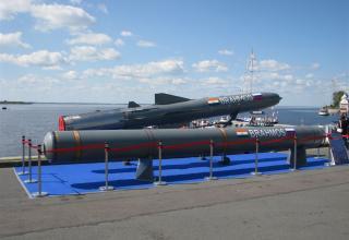Макет сверхзвуковой крылатой ракеты