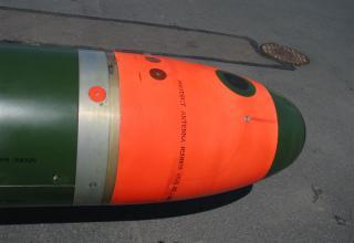 Элемент конструкции макета универсальной электрической телеуправляемой самонаводящейся торпеды