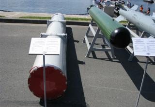Макет ТПК из состава малогабаритного противолодочного комплекса МПТК