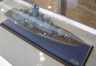Модель ракетного катера пр.12418. ©С.В.Гуров (Россия, г.Тула)