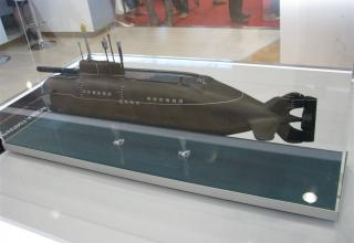 Модель малой подводной лодки