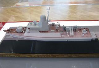 Модель сторожевого катера на базе пр. 12300. ©С.В.Гуров (Россия, г.Тула)