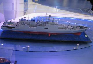 Модель фрегата пр.11356. ©С.В.Гуров (Россия, г.Тула)