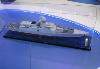 Модель малого патрульного корабля пр.20382