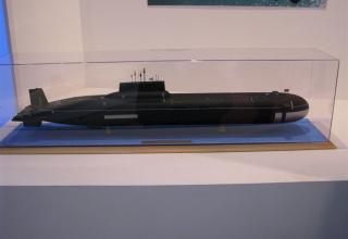 Модель ПЛАРК проекта 941