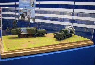 Модели составляющих берегового ракетного комплекса