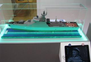 Модель проекта 1124М. ©С.В.Гуров (Россия, г.Тула)