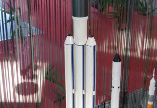 Макет ракеты-носителя. ©С.В.Гуров (Россия, г.Тула)