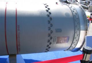 Элемент конструкции макета сверхзвуковой крылатой ракеты