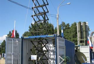 Макет модуля обнаружения и целеуказания комплекса