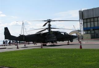 Ударно-разведывательный вертолет Ка-52
