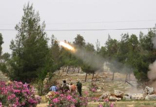 080513г. Установка типа TAKA – 3 GRL02. Пуск РС в боестолкновениях с правительственными силами.Reuters:Mohamed Kaddoor.