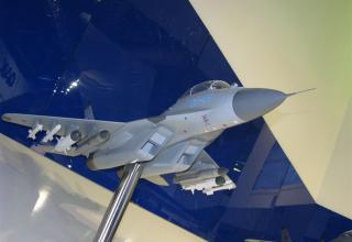Модель истребителя МиГ-35. ©С.В.Гуров (Россия, г.Тула)