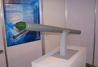 Макет неуправляемой авиационной ракеты С-8ДФ. ©С.В.Гуров (Россия, г.Тула)