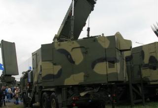 Демонстрационный вариант многофункционального радиолокатора МФР 50Н6Е из состава ЗРС-350Е