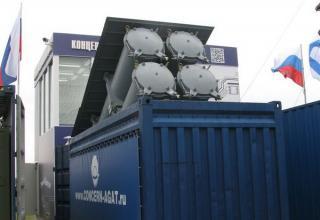 Демонстрационный вариант модульной пусковой установки на базе 20-фунтового морского контейнера. ©С.В.Гуров (Россия, г.Тула)