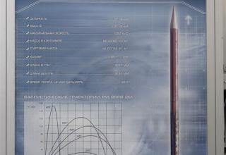 Штендер по ракете-мишени наземного старта 95Я6-2М. ©С.В.Гуров (Россия, г.Тула)