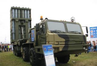 Демонстрационный вариант пусковой установки из состава ЗРС-350Е