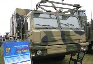 Демонстрационный вариант пункта боевого управления ЗРС-350Е
