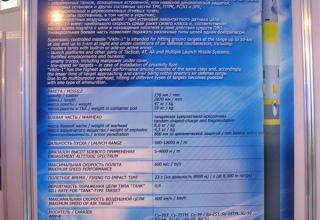 Постер по управляемой авиационной ракете