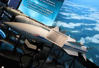Макет авиационной управляемой ракеты класса